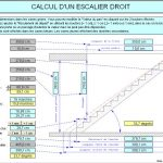 Calculateur escalier