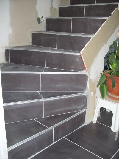 Pose carrelage escalier quart tournant 100 images for Pose carrelage sur escalier